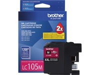 Brother Genuine Innobella LC105M Super High Yield Magenta Ink Cartridge