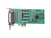 Brainboxes 4 Port RS422/485 Low Profile PCI Express Serial Port Card