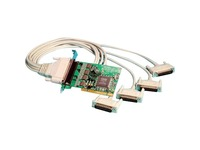 Brainboxes 4 Port RS232 PCI Serial Port Card DB25