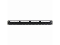 4XEM 24 Port CAT6 Rackmount Patch Panel
