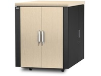 APC by Schneider Electric NetShelter CX 18U Secure Soundproof Server Room in a Box Enclosure