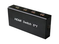 4XEM 5 Port HDMI Switch