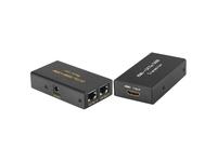 4XEM 30M/100Ft HDMI Extender Over Double Cat-5E or Cat-6 RJ45
