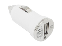 4XEM Universal USB Car Charger For iPhone/iPod/USB Devices (White)