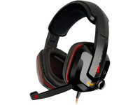 Aluratek Levetron USB Gaming Headset - Stereo - USB - Wired - Over-the-head - Binaural - Circumaural - 6.50 ft Cable