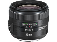 Canon - 35 mm - f/2 - Wide Angle Fixed Lens for Canon EF/EF-S
