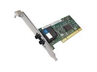 AddOn 100Mbs Single Open ST Port 2km MMF PCI Network Interface Card