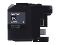 Brother Genuine Innobella LC109BK Super High Yield Black Ink Cartridge