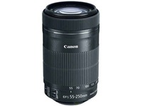 Canon - 55 mm to 250 mm - f/5.6 - Telephoto Zoom Lens for Canon EF/EF-S