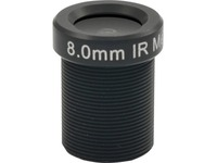 ACTi PLEN-4103 - 8 mm - f/1.8 - Fixed Focal Length Lens for Board Mount