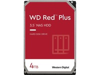 """WD Red Plus WD40EFRX 4 TB Hard Drive - 3.5"""" Internal - SATA (SATA/600)"""