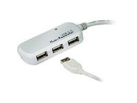 ATEN 4-port USB 2.0 Extender Hub-TAA Compliant