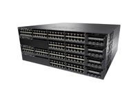 Cisco Catalyst 3650-48F 48 Ports Layer 3 Switch Redundant Power Supply (not included)