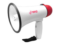 PyleHome Professional Megaphone / Bullhorn with Siren & LED Lights