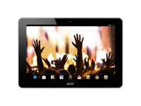 """Acer ICONIA A3-A10 A3-A10-81251G03n Tablet - 10.1"""" WXGA - 1 GB RAM - 32 GB Storage - Android 4.2 Jelly Bean - White"""