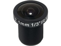 ACTi PLEN-4105 - 2.10 mm - f/1.8 - Fixed Lens for Board Mount