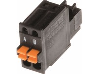 AXIS Connector A 2-pin 2.5 Straight, 10 pcs