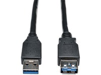 Tripp Lite 6ft USB 3.0 SuperSpeed Extension Cable A Male to A Female Black