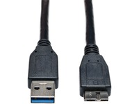 Tripp Lite 6ft USB 3.0 SuperSpeed Device Cable USB-A Male to USB Micro-B Male Black