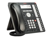 Avaya 1416 Standard Phone - Black