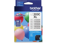 Brother Genuine Innobella LC203C High Yield Cyan Ink Cartridge