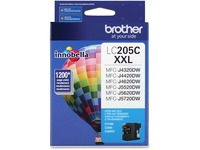 Brother Genuine Innobella LC205C Super High Yield Cyan Ink Cartridge