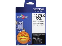 Brother Genuine LC2072PKS Super High Yield Black Ink Cartridges