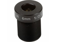 AXIS - 6 mm - f/1.6 - Fixed Focal Length Lens