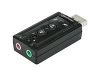 Manhattan Hi-Speed USB 2.0 3D 7.1 Sound Adapter