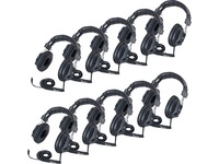 Califone 3068AV-10L Switchable Headphones Classpack