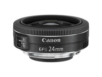 Canon - 24 mm - f/2.8 - Wide Angle Fixed Lens for Canon EF-S