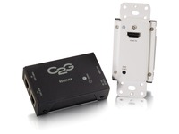 C2G HDMI over Cat5 Extender Kit - Short Range Extention - Wall Plate to Box