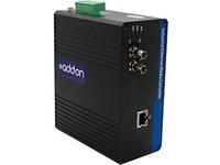 AddOn 1 10/100/1000Base-TX(RJ-45) to 1 1000Base-LX(ST) SMF 1310nm 20km Industrial Media Converter