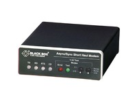 Black Box Async/Sync RS232 Extender over CATx - DB25 Female to RJ-45/Terminal Block