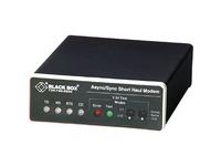 Black Box Async/Sync RS232 Extender over CATx - DB25 Female to RJ-45/Terminal Block