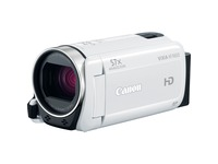 "Canon VIXIA HF R600 Digital Camcorder - 3"" LCD Touchscreen - CMOS - Full HD - White"