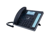 AudioCodes 440HD IP Phone - Corded - Black