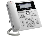 Cisco 7821 IP Phone - Wall Mountable, Desktop - White