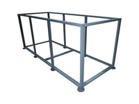 APC by Schneider Electric Uniflair Floorstand 305mm (12in) - Frame 7