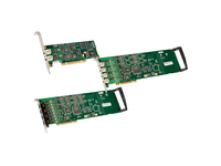 Dialogic Diva 306-389 Voice Board - PCI Express x Network (RJ-45) - 4 x Phone Line (RJ-11) - T-carrier/E-carrier/ISDN - Plug-in Card