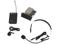 AmpliVox S9112 - Panel Mount Receiver with Lapel & Headset Mic Kit