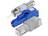 AddOn 2-Pack 10dB fixed Male to Female LC/UPC MMF OM1 Simplex fiber Attenuator