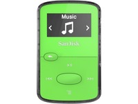 SanDisk Clip Jam SDMX26-008G-G46G 8 GB Flash MP3 Player - Green