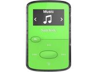 SanDisk Clip Jam SDMX26-008G-G46G 8 GB Flash MP3 Player - Green