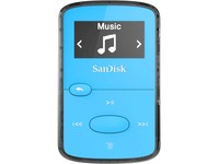 SanDisk SDMX26-008G-G46B 8 GB Flash MP3 Player - Blue