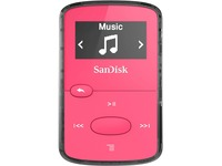 SanDisk Clip Jam SDMX26-008G-G46P 8 GB Flash MP3 Player - Pink