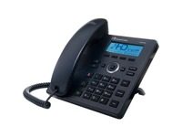 AudioCodes 420HD IP Phone - Corded - Black