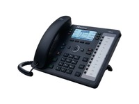 AudioCodes 430HD IP Phone - Corded - Black