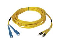 Tripp Lite 5M Duplex Singlemode 9/125 Fiber Optic Patch Cable SC/ST 16' 16ft 5 Meter