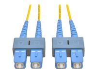 Tripp Lite 2M Duplex Singlemode 8.3/125 Fiber Optic Patch Cable SC/SC 6' 6ft 2 Meter